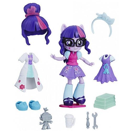 Кукла Hasbro My Little Pony Equestria Girls Minis Сенные наряды Switch 'n Mix Twilight Sparkle (C1842)