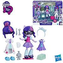 Кукла Hasbro My Little Pony Equestria Girls Minis Сенные наряды Switch 'n Mix Twilight Sparkle (C1842), фото 3