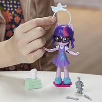 Кукла Hasbro My Little Pony Equestria Girls Minis Сенные наряды Switch 'n Mix Twilight Sparkle (C1842), фото 7