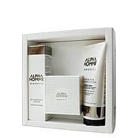 Парфумерний набір ALPHA HOMME MMXVIII (парфум, шампунь-гель, дезодорант-спрей)