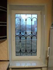 """Окна типа """"Эконом"""" из профиля WDS 400, с двукамерным энергосберегающим стеклопакетом,размеры (850х1400)"""