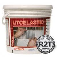 """LITOELASTIC(5кг.) - Улучшенный реактивный, тиксотропный эпоксидно-полиуретановый белый клей.""""Litokol"""""""