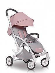 Детская прогулочная коляска EasyGo Minima Plus powder pink (ИзиГоу Минима Плюс, Польша)