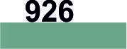 Мулине DMC (Франция) 926 Серо-зеленый, ср.