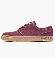 Женские кроссовки Nike Air Zoom Stefan Janoski Skateboarding Shoe Burgundy AH4233-600