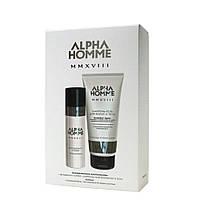 Парфюмерные компаньоны ALPHA HOMME MMXVIII (шампунь-гель, дезодорант-спрей)