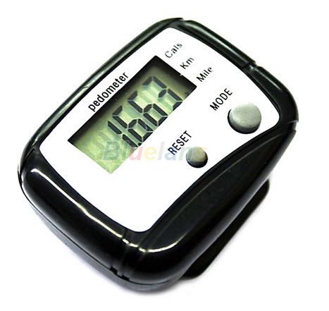 Шагомер электронный с клипсой на пояс, счетчик калорий, шагов, для хотьбы, бега, измеритель шагов, каллорий