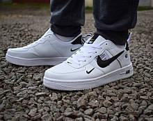 Мужские кроссовки 44 размер  Nike Air белые с черным М0095