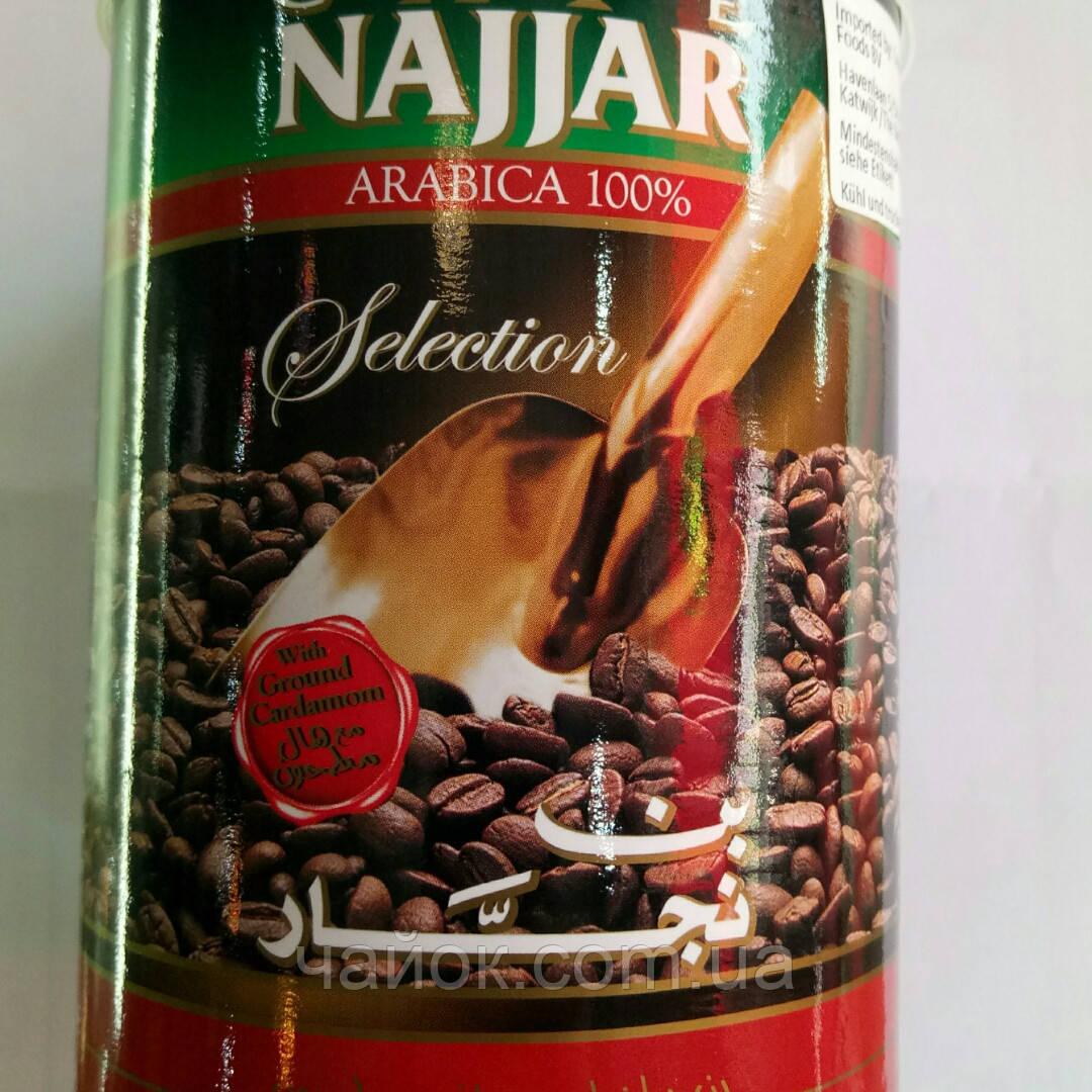 Кофе Najjar с кардамоном молотый 350 гр в жестяной банке