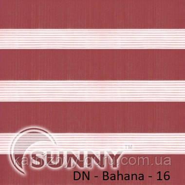 Рулонные шторы для окон Sunny в системе День Ночь, ткань DN-Bahama - 2