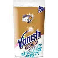 Порошок в банці ВАНІШ OXI  White GOLD для білих тканин плямовивідник 470г