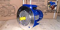 Электродвигатель АИР71В4 0,75 кВт 1500 об/мин 220/380в фланец - лапа В3, фото 1