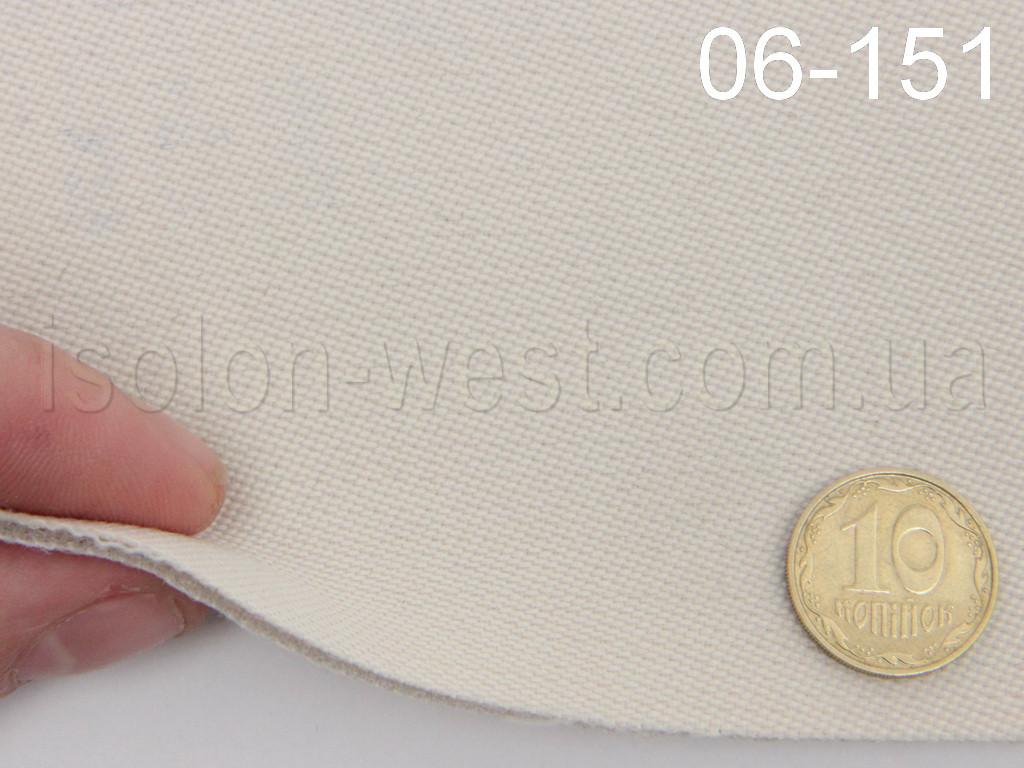 Ткань потолочная, светлый цвет 06-151 на поролоне и сетке шир. 1.8 м