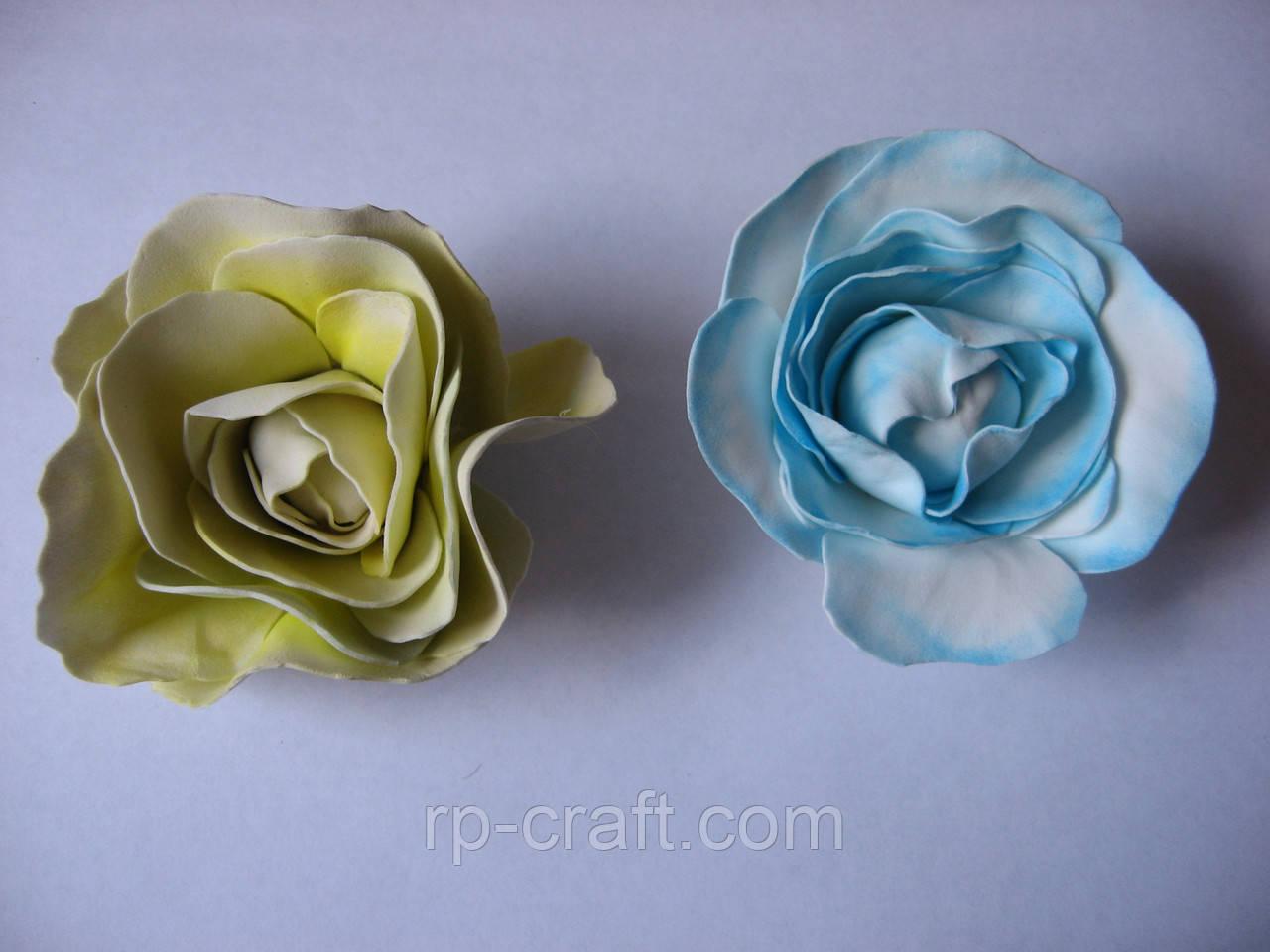 Троянда з фоамирана, 70х70 мм