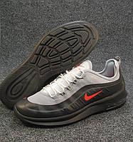 e7818024 Кроссовки мужские Nike Air Max Axis черно-серые (найк аир макс)(р