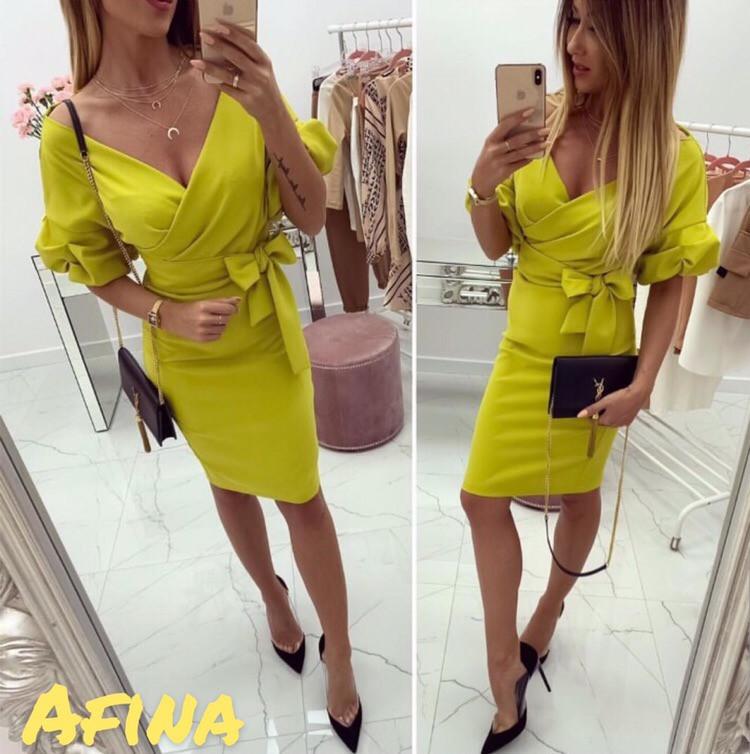 Женское стильное платье  АП203