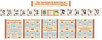 Стенды в кабинет украинского языка (суперплотный картон)