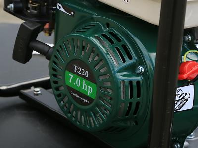 Мощный бензиновый двигатель мотопомпы Iron Angel WPGD 90
