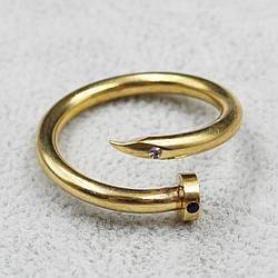 """Кольцо с нержавеющей стали ( Stainless Steel)  в виде гвоздя """"Armand Golden"""""""