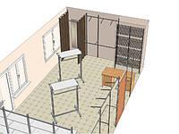 Визуализация пространства на площади 10-15 кв.м