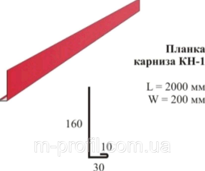 Планка карнизная КН-1