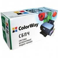 СНПЧ ColorWay T50, T59, R270, R290, R295, R390, RX590, RX610,TX650 с чернилами