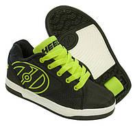 Роликовые кроссовки Heelys Propel 2.0 770977 (31, Черно-зеленый)