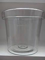 Ваза прозрачное стекло Польша 29см