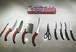 Набор Ножей Contour Pro Контр Про +Магнитная Рейка, фото 3