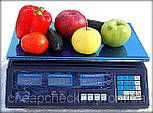 Торговые Электронные Аккумуляторные Весы до 40 кг, фото 2