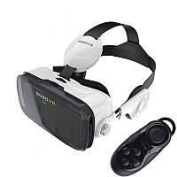VR очки виртуальной реальности Z4 с наушниками и пультом Зет 4