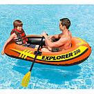 Якісна Надувний Човен одномісний Весла Насос Ремкомплект, фото 4