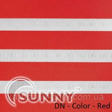 Рулонные шторы для окон Sunny в системе День Ночь, ткань DN-Color