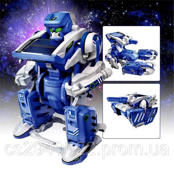 Робот Конструктор на Солнечных Батареях 3 в 1