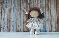 """Интерьерная кукла """"Серенький цветочек"""", фото 1"""