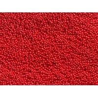 Посыпка Нонпарель круглая красная №28 50 грамм