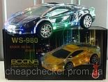 Колонка MP3 Lamborghini с Подсветкой 980 Радио, фото 5