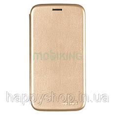 Чехол-книжка G-Case для Samsung Galaxy J4 Plus 2018 (J415) Gold