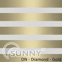 Рулонные шторы для окон Sunny в системе День Ночь, ткань  DN-Diamond