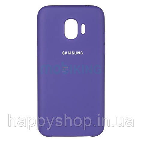 Оригінальний чохол Soft touch для Samsung Galaxy J4 Plus 2018 (J415) Violet, фото 2