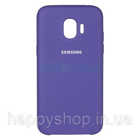 Оригинальный чехол Soft touch для Samsung Galaxy J4 Plus 2018 (J415) Violet, фото 2