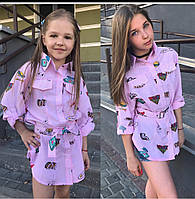 Детская рубашка на девочку, фото 1