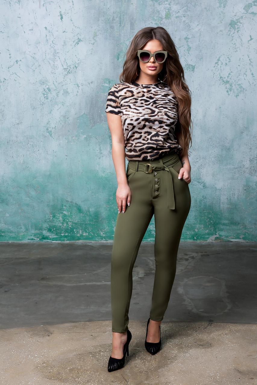 Женские стильные брюки  АП192