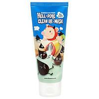 ELIZAVECCA MILKY PIGGY HELL PORE CLEAN UP MASK Очищающая маска-пленка с углем, 100 гр