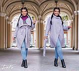 Кардиган женский плотная пальтовая ткань,мелкое букле от50-до 60р.(3расцв), фото 3