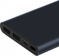 УМБ Xiaomi Mi Power Bank 2s 10000 mAh Black (PLM09ZM) Оригинал