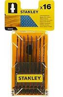 Акс.інстр Stanley набор полотен STA28160 по дереву, металлу 16шт.