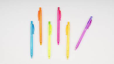 Автоматическая шариковая ручка RADIUS REPORTER. Цвет стержня синий.