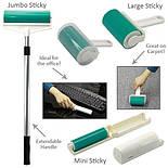 Валик для Уборки в Доме и Чистки Одежды Sticky Lint Набор 3 шт, фото 5