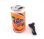 Портативная MP3 Колонка Cola Pepsi с FM Радио, фото 3